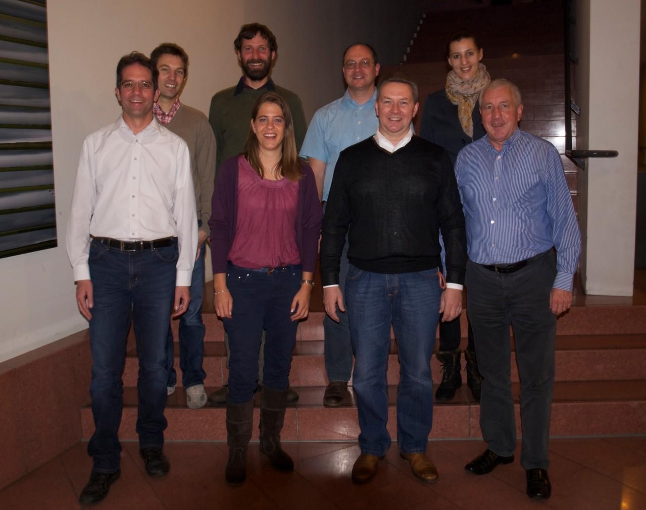 OVB-Vorstand und Neumitglieder anlässlich der 49. GV (2013)