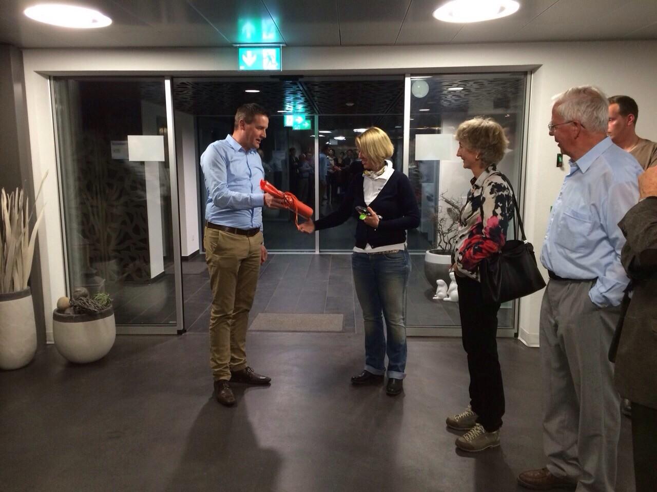 """Besuch bei """"New Brigerbad"""", 12. März 2015"""