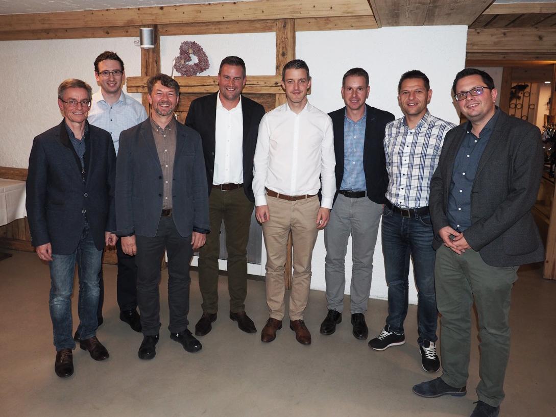 OVB-Vorstand und Neumitglieder anlässlich der 54. GV vom 9. November 2018