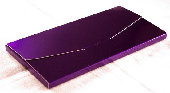 Geschenkschachtel Farbe lila