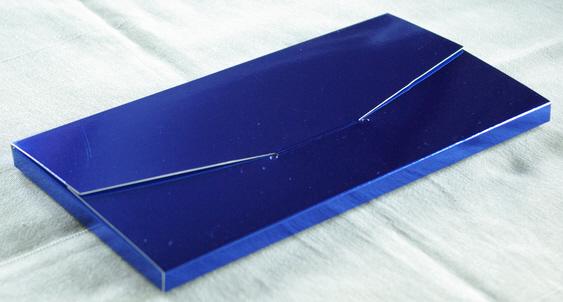 Geschenkschachtel Farbe königsblau