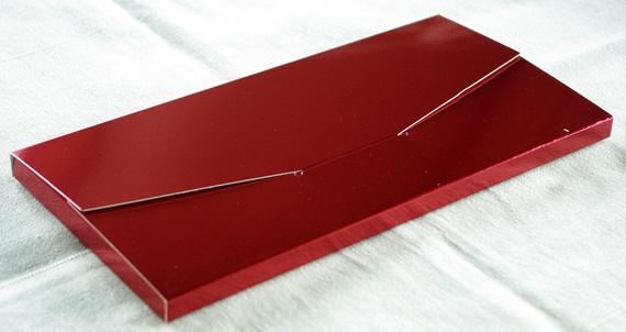 Geschenkschachtel Farbe kardinalsrot