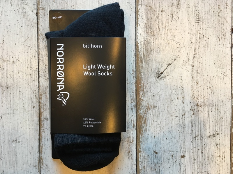 NORRONA(ノローナ) bitihorn lightweight wool Socks 各¥3,024(税込)