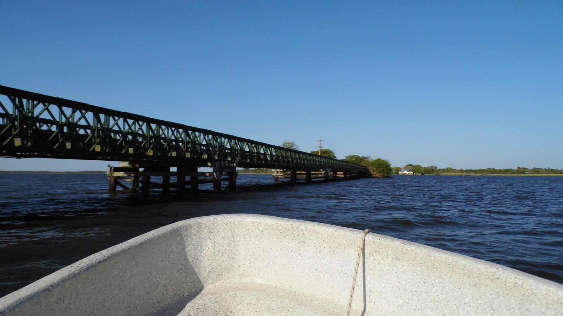 Pont sur lequel nous sommes arrivés