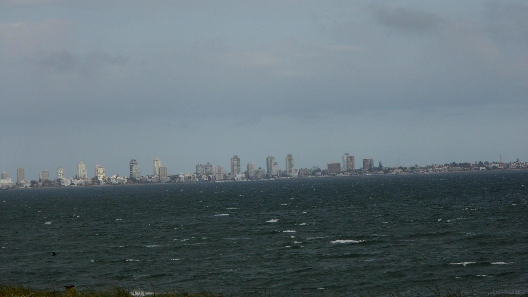 Punta del Este au loin