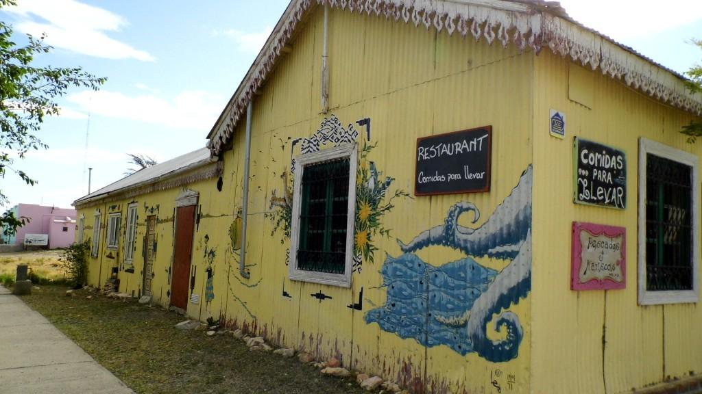 Premier hôtel de Camarones