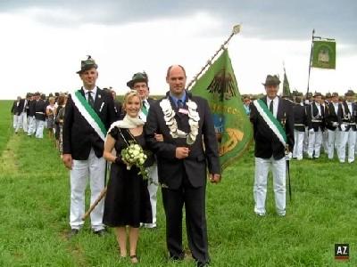 Der neue Rosendahler Kaiser und die neue Kaiserin 2010.