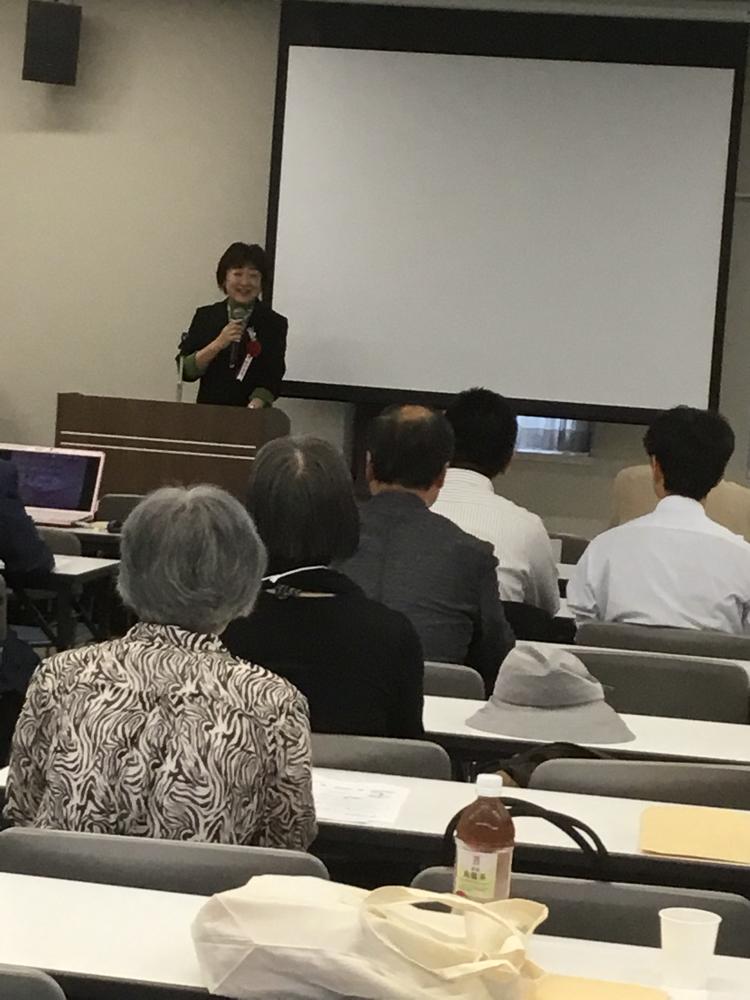 郡和子仙台市長ご参加。祝辞をいただきました。