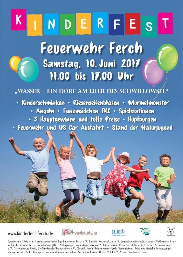 Plakat Kinderfest 2017