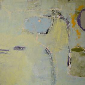 """Mikrokosmos"", 2014, 80 x 80 cm, Acryl auf Leinwand"