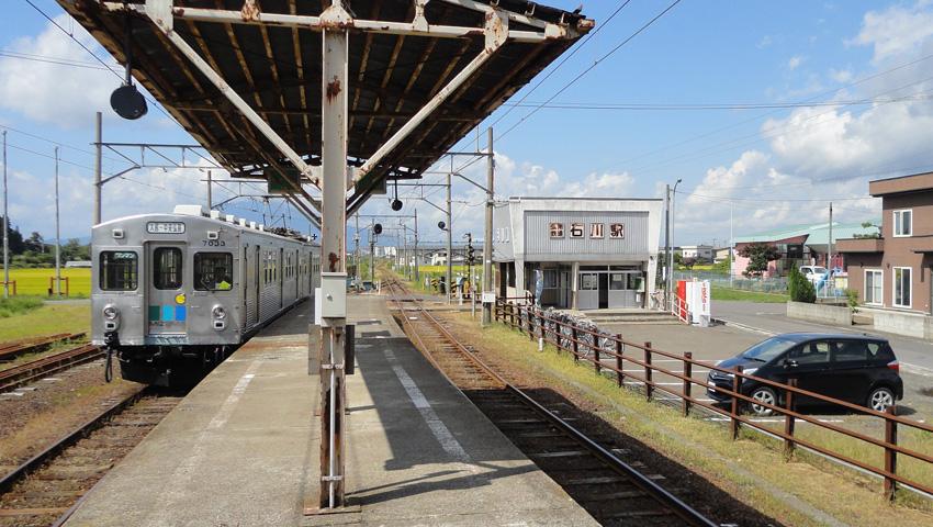 1.  弘南鉄道「石川駅」からアシストMBと「サイクルトレイン」で