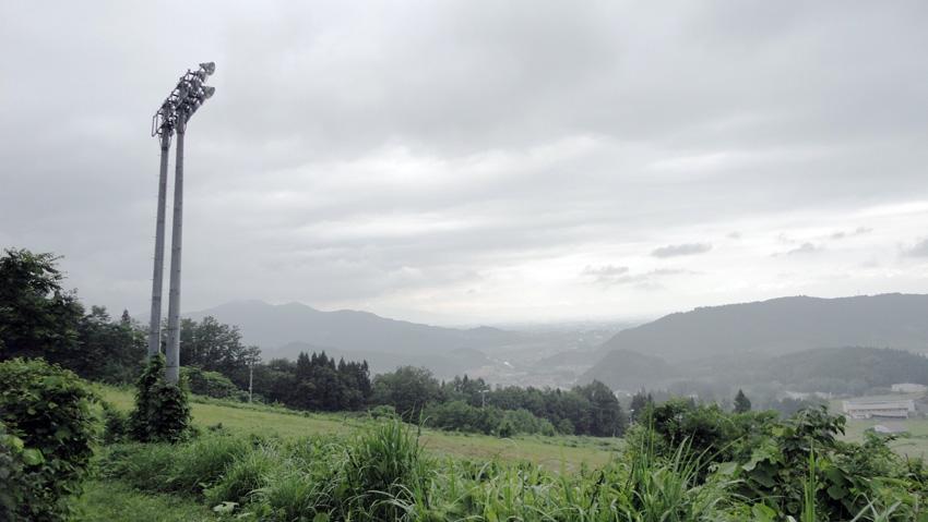 14.  ユックリの下山でも30分でゲレンデ到着。