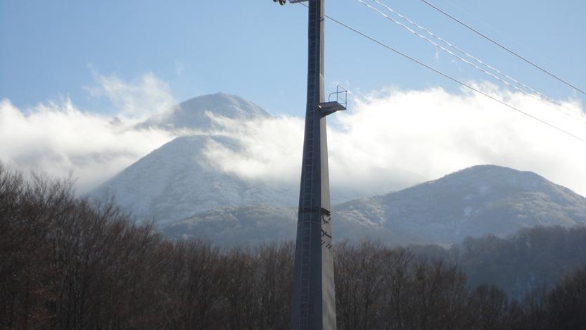 晴天ながら風も強くなりソロソロ下山へ