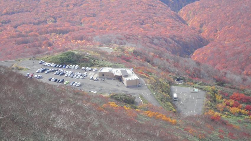 8.  山頂から八合目駐車場