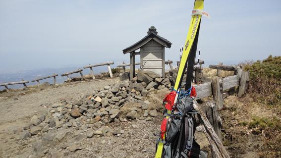 「赤倉岳」山頂祠