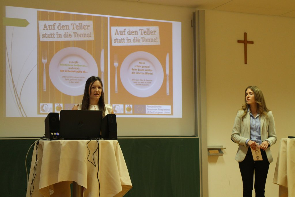 "HLW: Presentation of a ""Diplomarbeit"" cooperating with ""ATE"" und ""Best of the Rest"", June 2017"