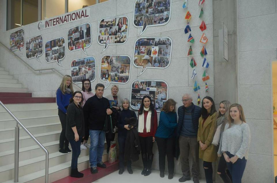 Information about Erasmus+ and ATE for our guests from Portugal, HLW St. Veit Jan 2018