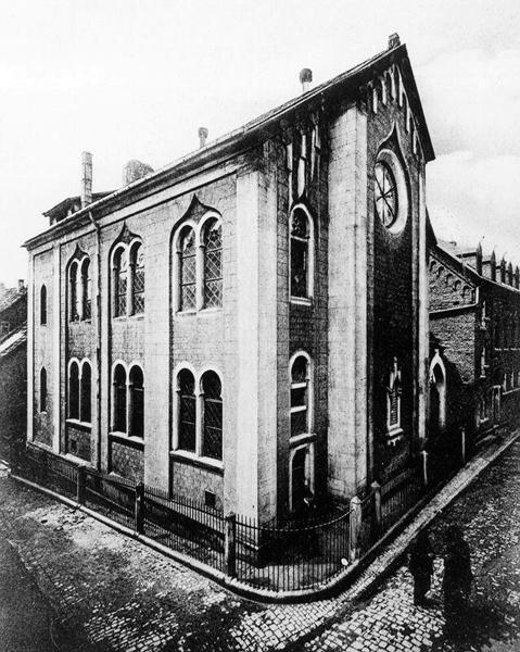 Die Synagoge von Fulda, zerstört 1938