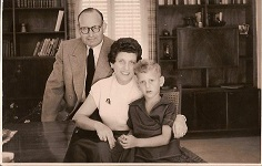 Ernst and Fanny Bensinger with son Ethan