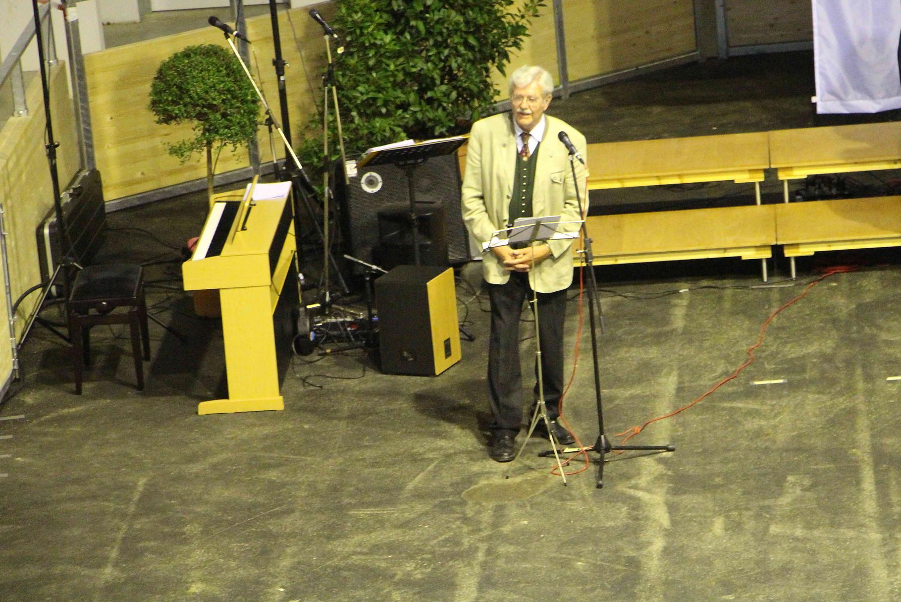 Begrüßung durch den stv. Kreisvorsitzenden Karl B. Kögl