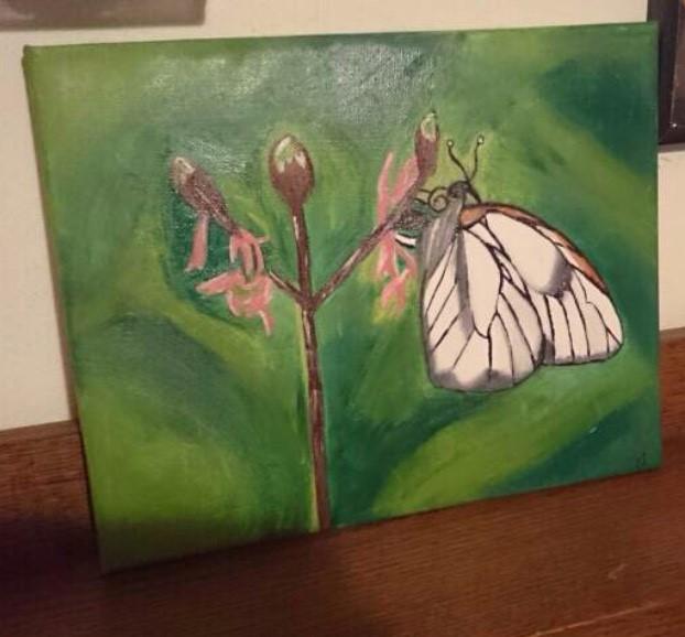 NR.1 Butterfly 1 VERKAUFT