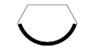 Staffieri Cheminee Türvariante Classic Line mit sichtbarem Standard Rahmen Rund
