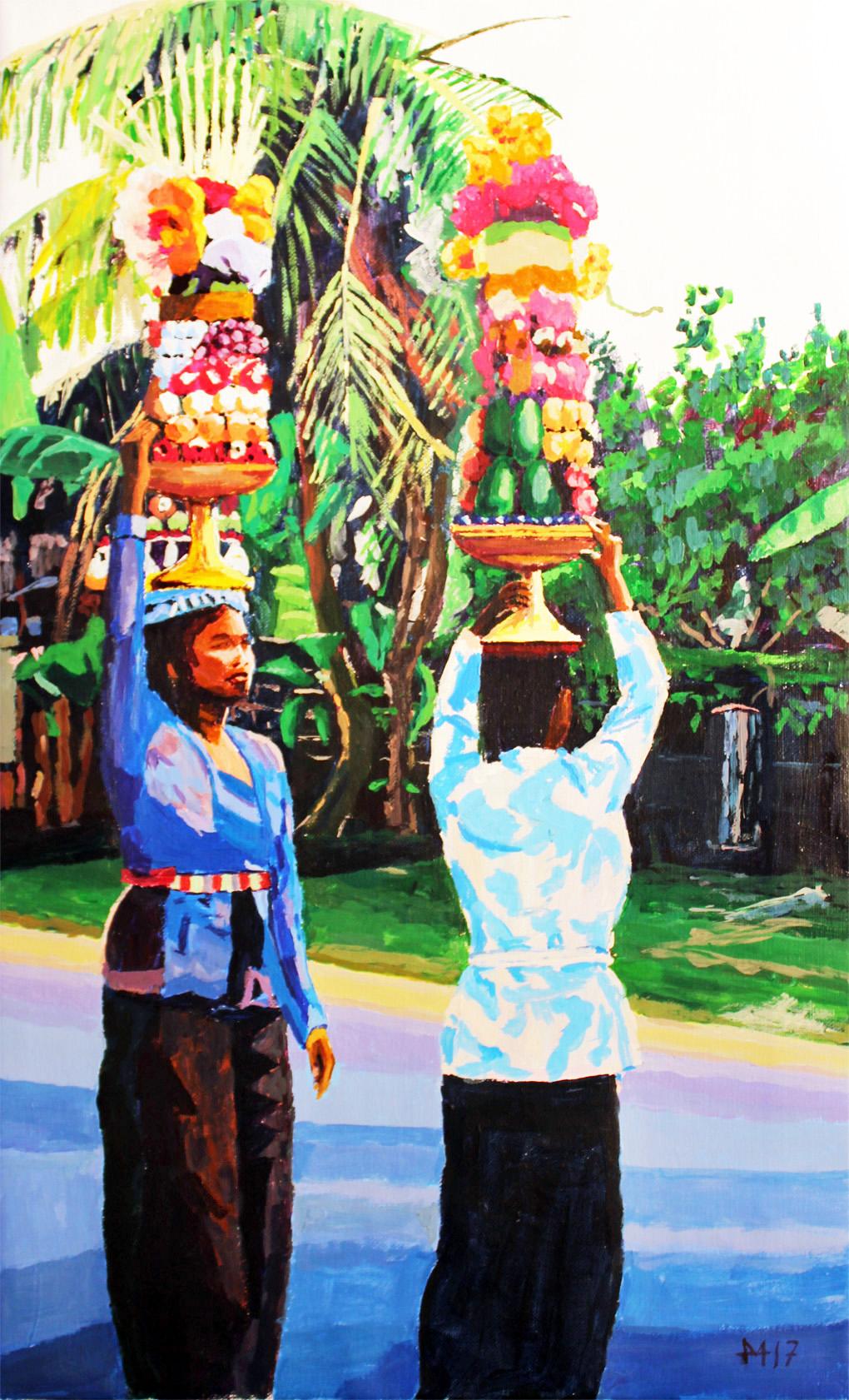 Prozession auf Bali