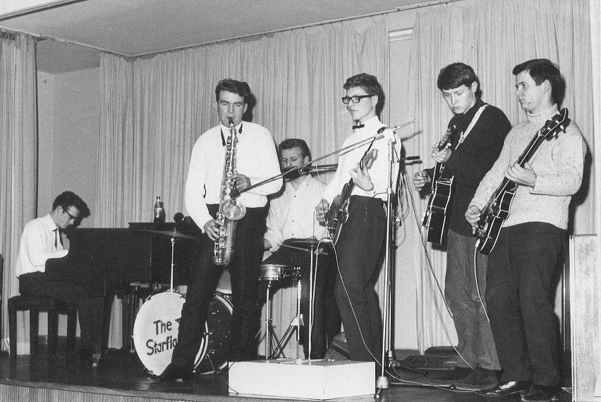 The Globetrotters mit Roger sax und Jochen bass, 1963