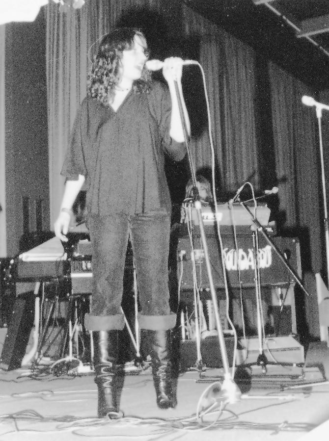 Die neue Sängerin Bärbel