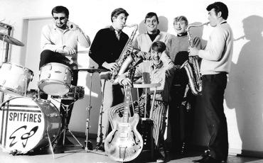 Erwin Schmidt, Gerd Ritter, Gerd Reckel, Peter Baumbach, Reinhold Lotz sitzend Tony Schäfer