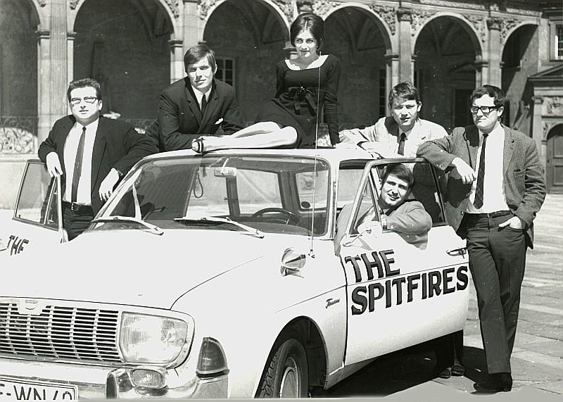 Fotoshooting mit Tamara 1966