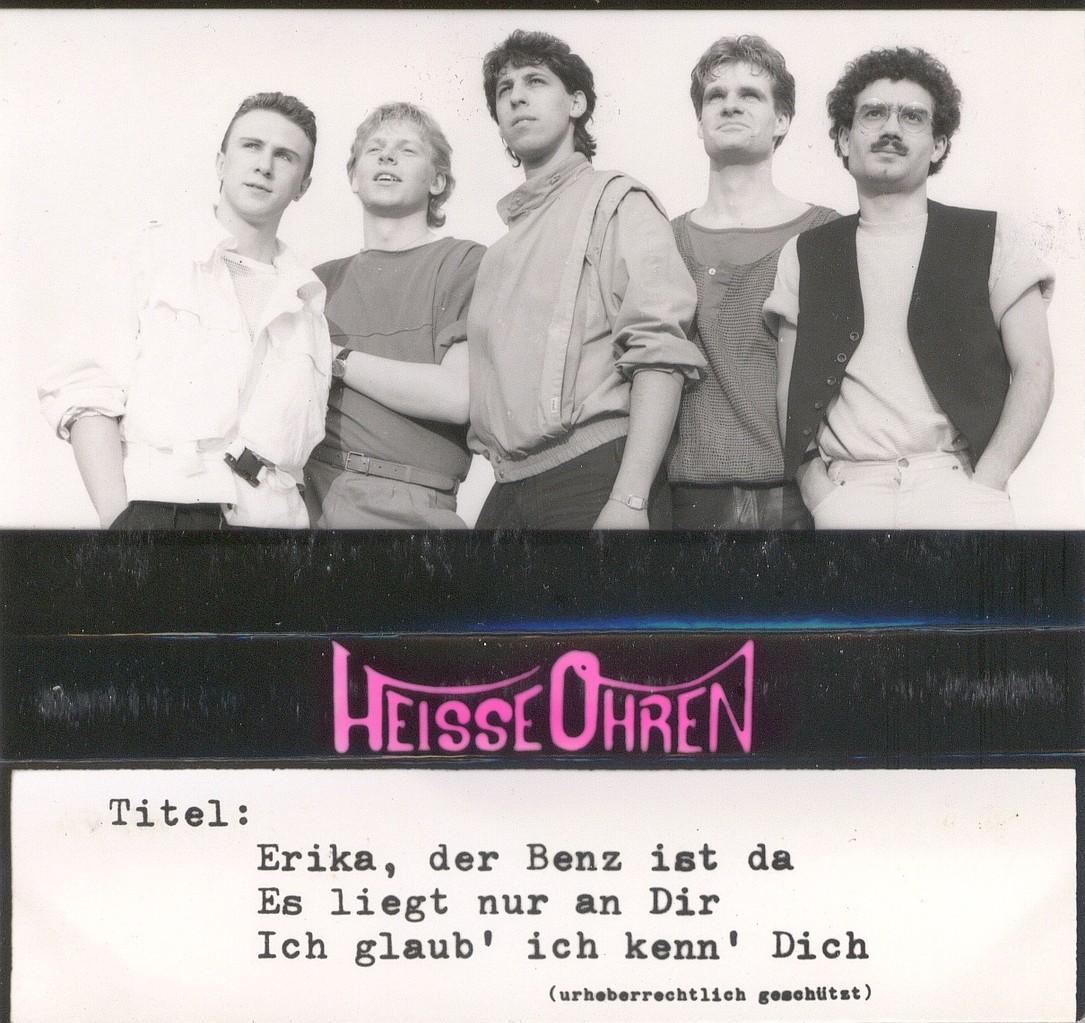 Cassetteneinleger des Demos von 1984