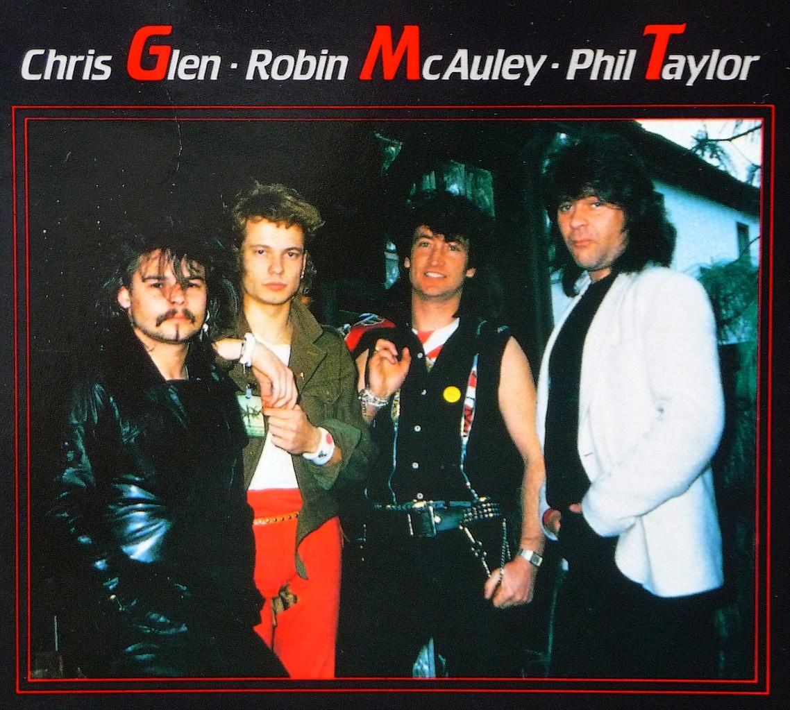 Phil Taylor, Marcus Schleicher, Robin McAuley, Chris Glen