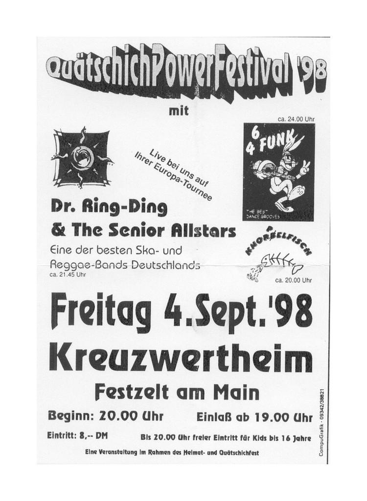 Das Festivalplakat