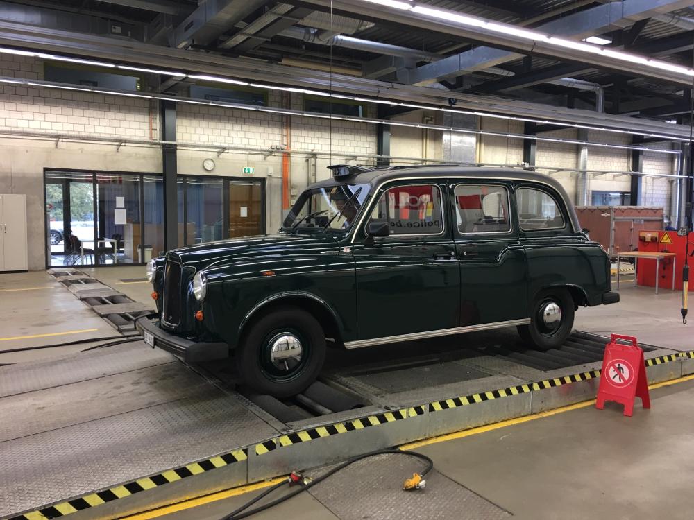 London-Taxi wieder frisch ab MFK 31.8.2018