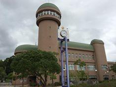 水の館。展示・プラネタリウム・展望室・駐車場・すべて無料です。