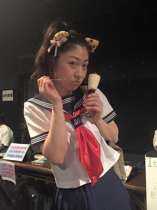2月の【越谷な夜】セラー服姿のwakkoさん!(@_@。これが最初の出会い
