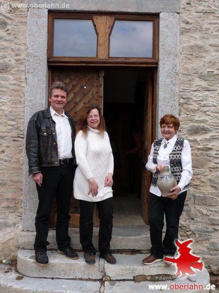 Udo und Patricia Sartorius mit Mutter Heidi Schäfer
