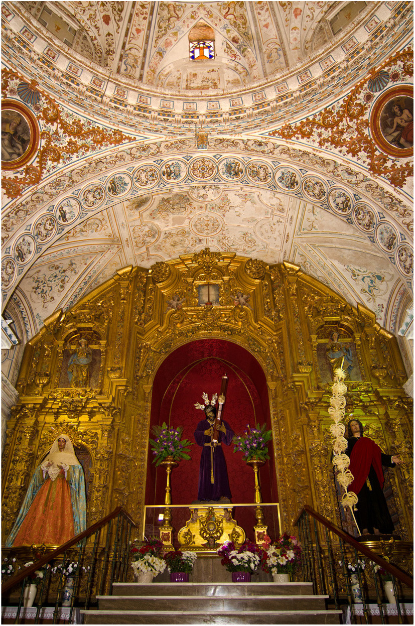 Iglesia de la O, Rota, Andalusien