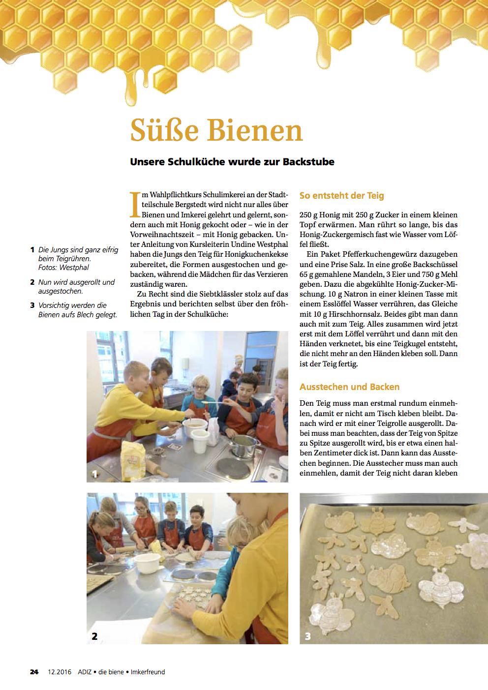 Dieser Artikel ist in der aktuellen Ausgabe der ADIZ / die biene / Imkerfreund erschienen.
