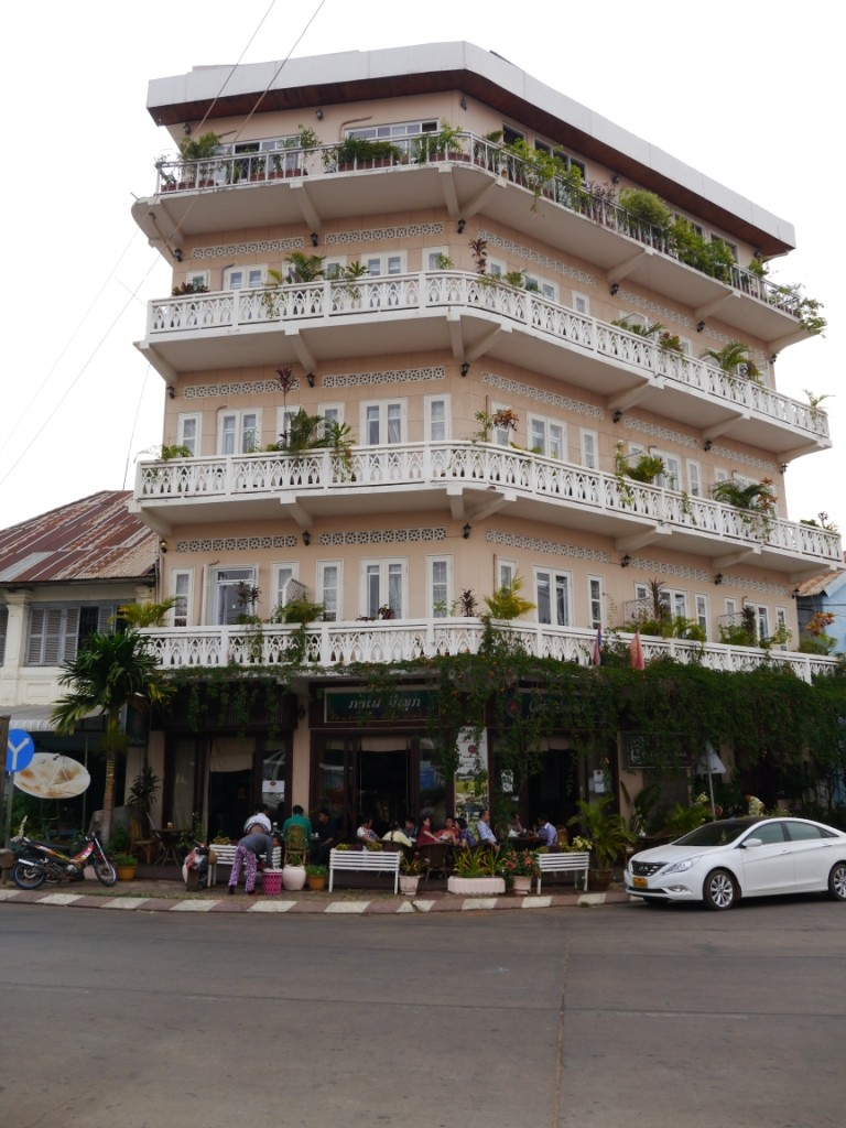 Unser Hotel in Pakse Laos