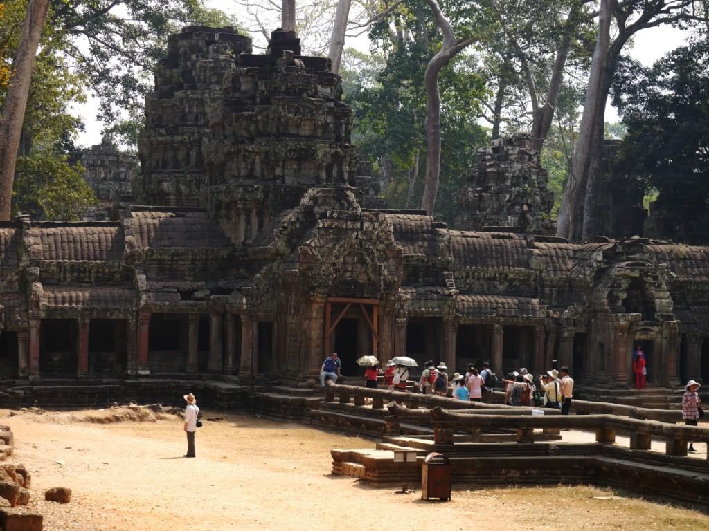 Im Dschungel von Angkor Wat