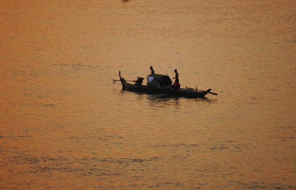 Mekong im Abendlicht