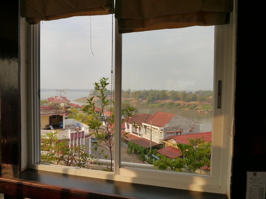 Blick aus unserem Zimmer