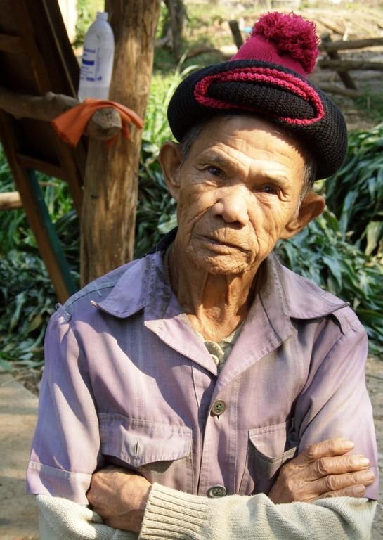 Lebenserfahrener älterer Thai
