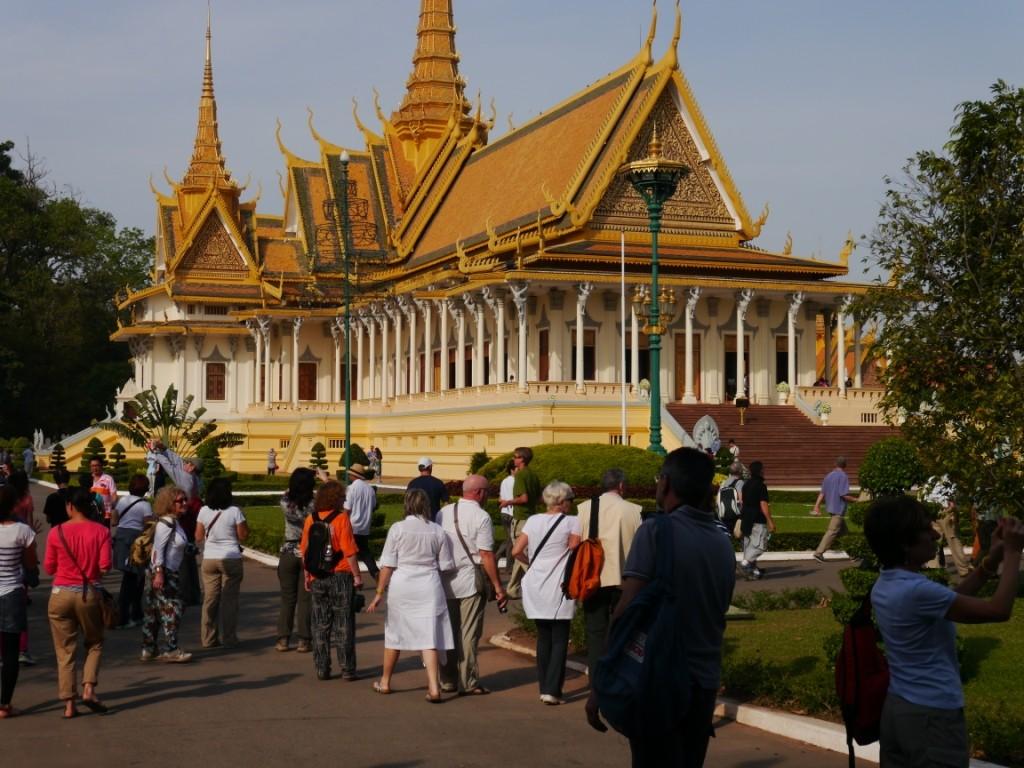 Königlicher Palast  in Phnom Penh