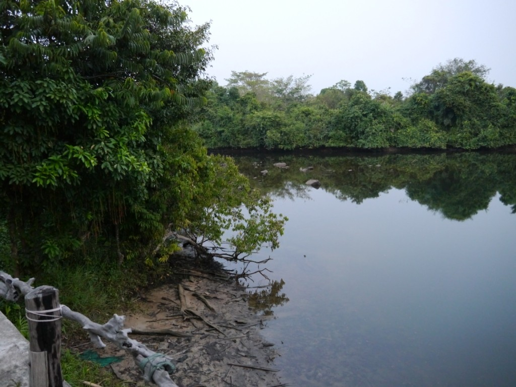 Ruhig und still ruht der River