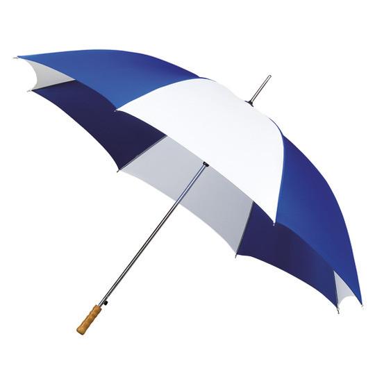 123 kleine golf automatisch kobalt blauw met wit