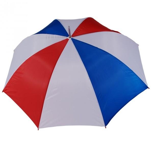 687 Franse of Nederlandse kleuren golf diameter 130 cm recht houten handvat