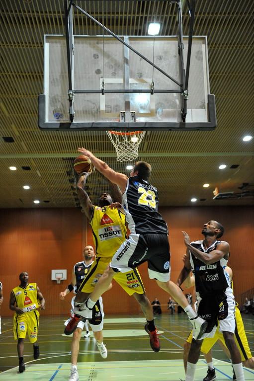 Powel, Union Neuchâtel-Tigers Lugano 1/2 finale cp 65-93